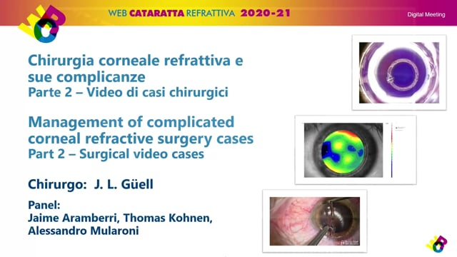 WCR: Part 2 – MANAGEMENT OF COMPLICATED CORNEAL REFRACTIVE SURGERY CASES