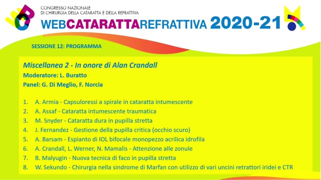 WCR – IN ONORE DI ALAN CRANDALL