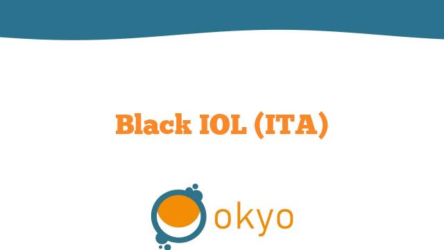 Black IOL (ITA)