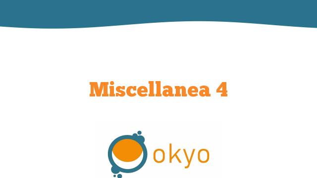 Miscellanea 4